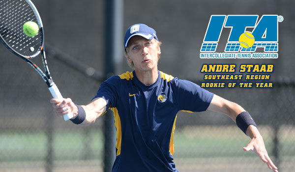 Staab Named ITA Southeast Region Rookie of the Year