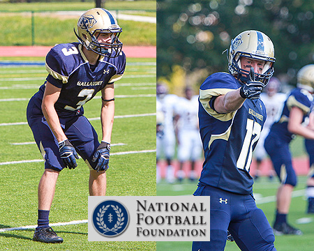 Gallaudet's Kevin Berrigan, Denton Mallas named to the 2013 NFF Hampshire Honor Society