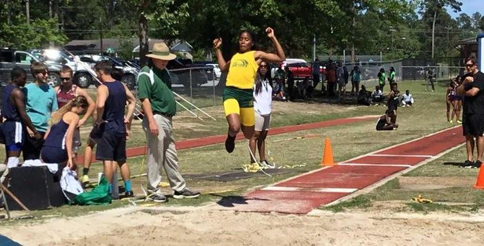 Gator Track Team Members Compete Well at State Meet
