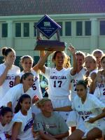 Women's Soccer Picked to Win 2002 WCC Crown