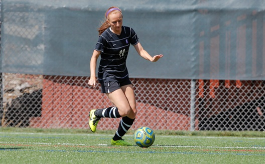 Sophomore forward Gianna Vitolo had a goal and an assist in Scranton's 2-0 victory over Susquehanna on Saturday, the Royals' 13th straight win.