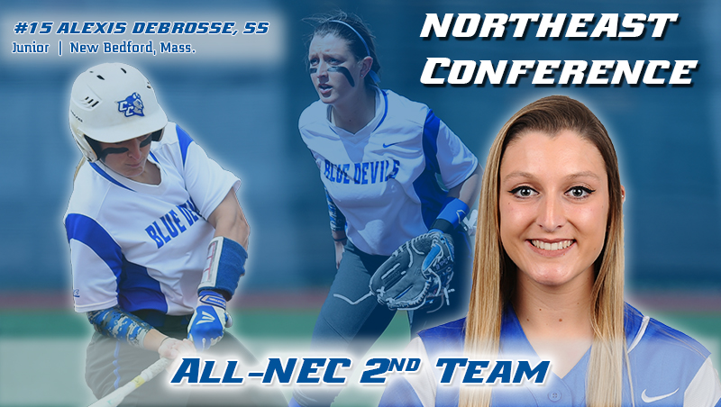 Debrosse Selected to All-NEC Second Team