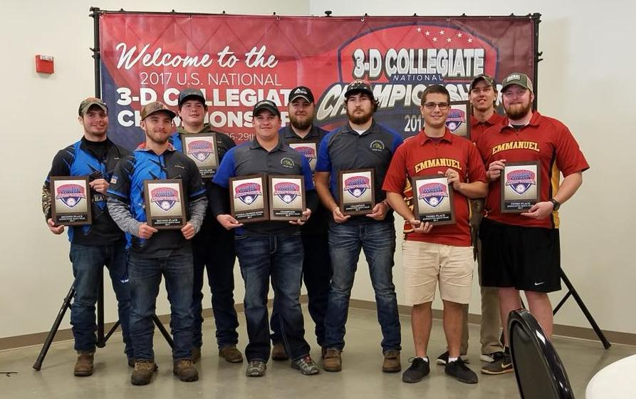 Archery Finishes 3rd in Nation at 3-D Collegiate National Championship