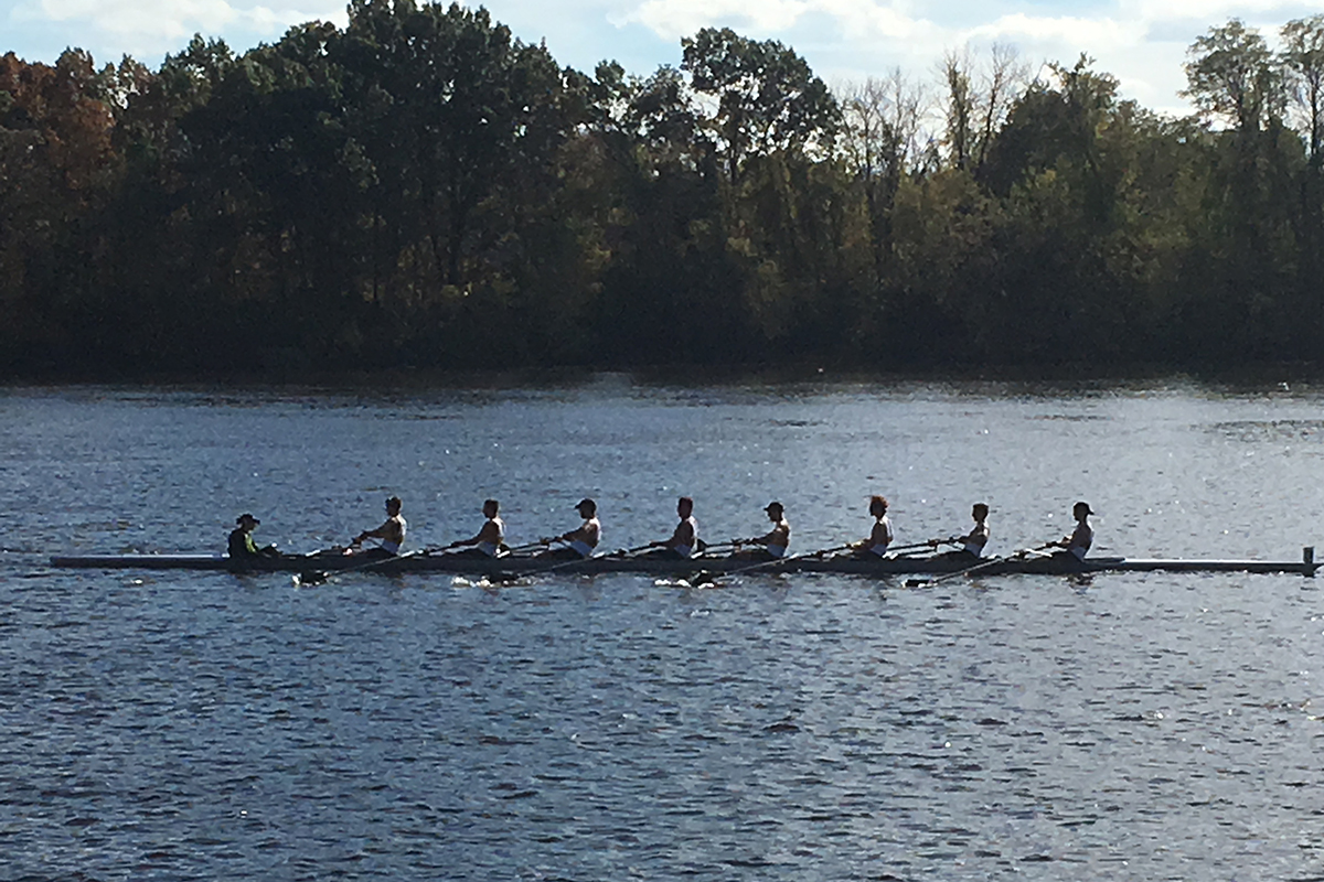 Rowing Wraps up Fall Season at Lowell Halloween Regatta