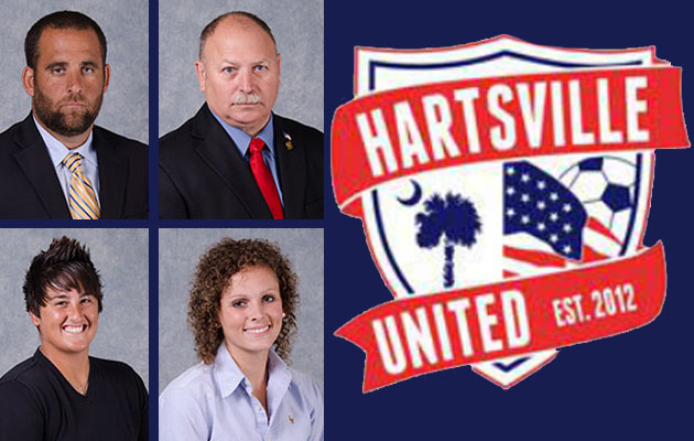 Coker Women's Soccer Staff Helps Form Hartsville United