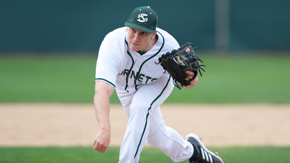 BALANCED ATTACK AND STRONG PITCHING LEAD BASEBALL PAST FRESNO STATE 6-4
