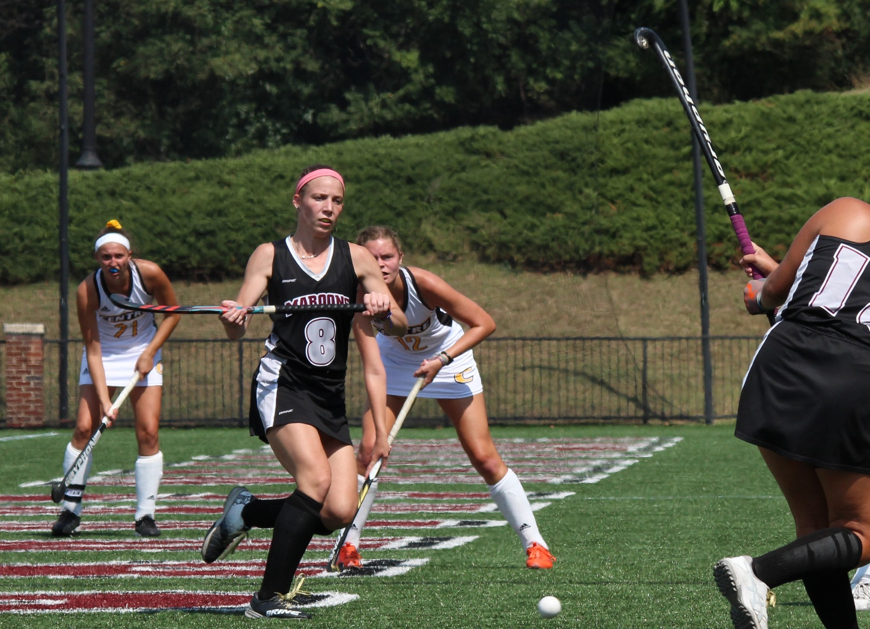 action photo of Hannah Bunton, Roanoke Field Hockey
