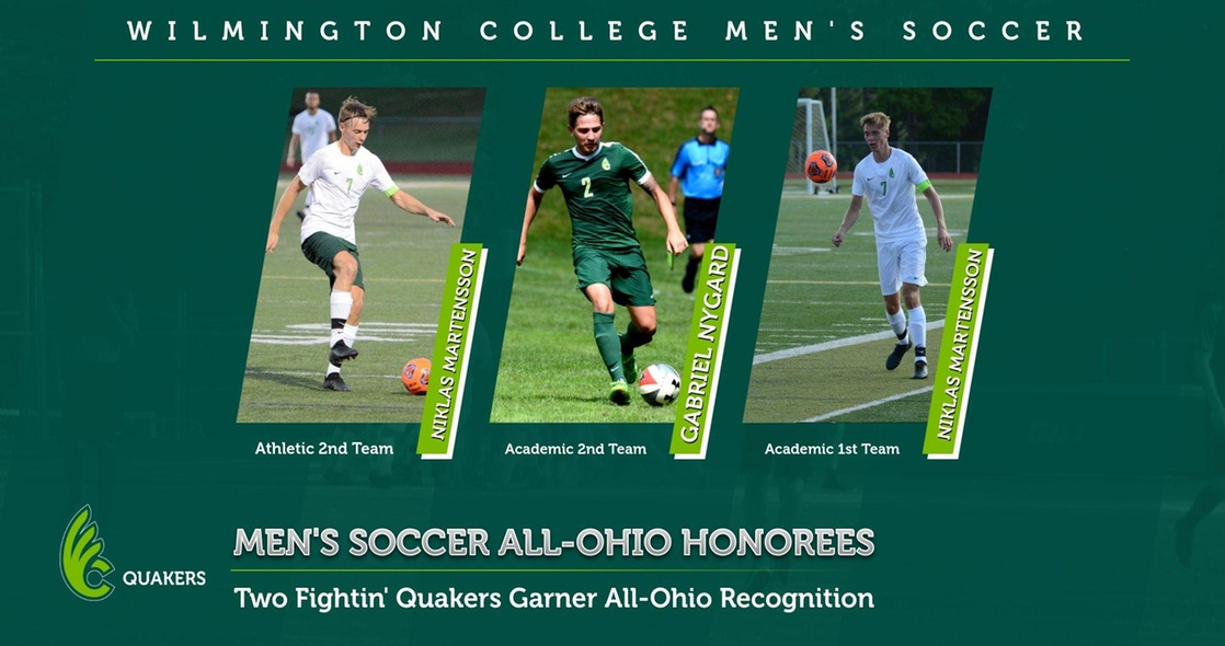 Martensson and Nygard Earn All-Ohio Honors