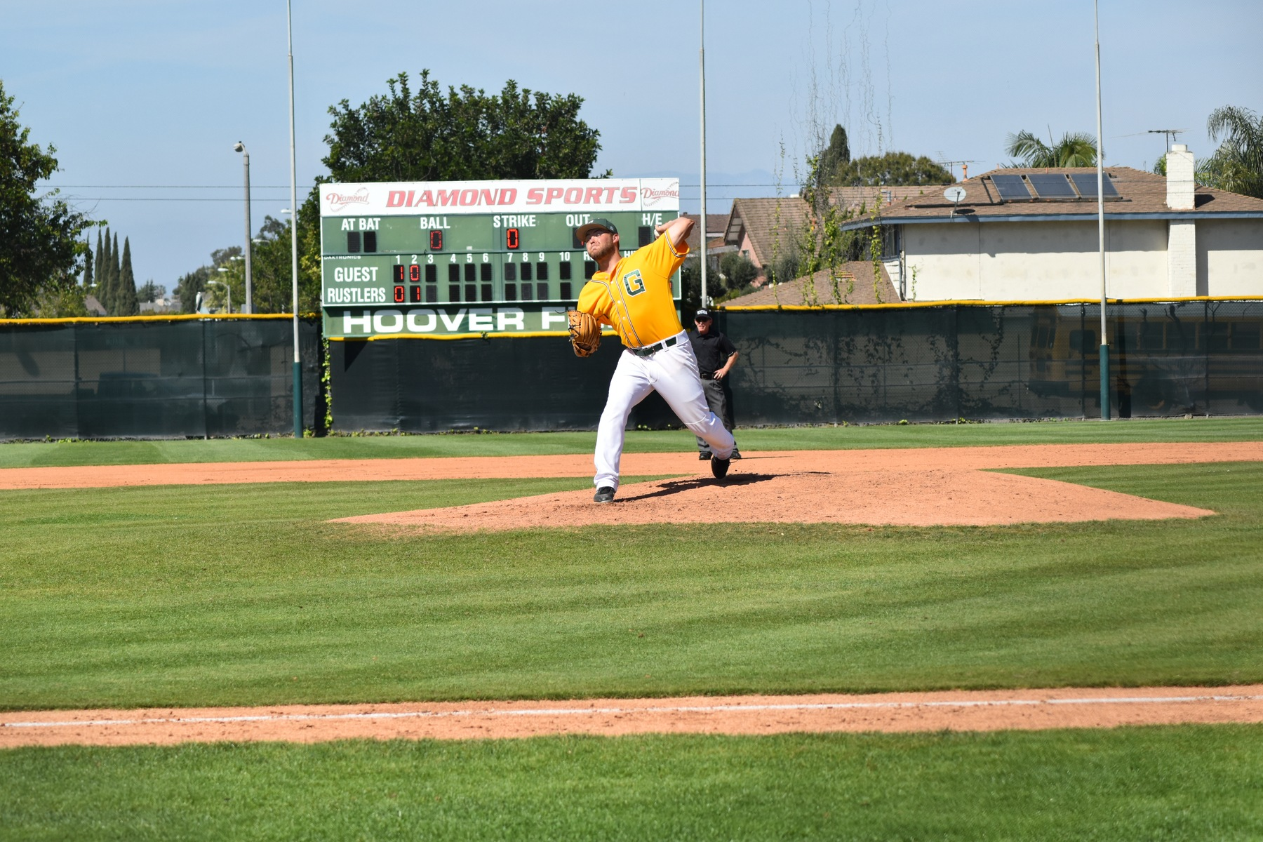 Baseball: Big Inning Leads to Big Win