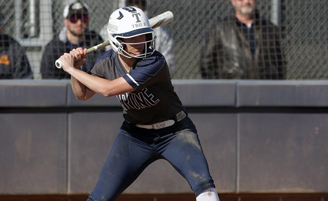 Softball Takes a Pair Off Host Kalamazoo