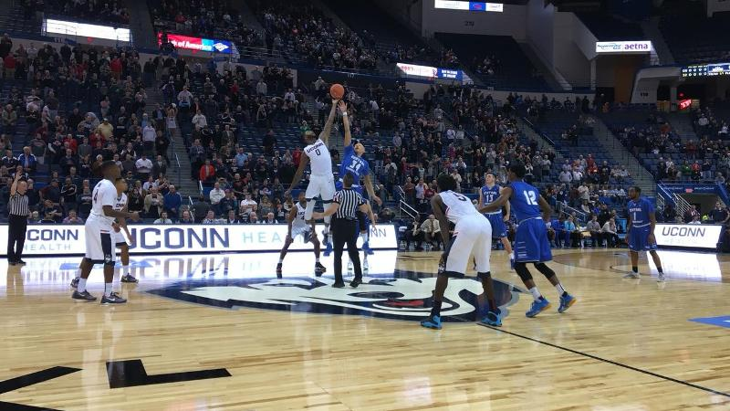 Blue Devils Fall on the Road at UConn on Wednesday