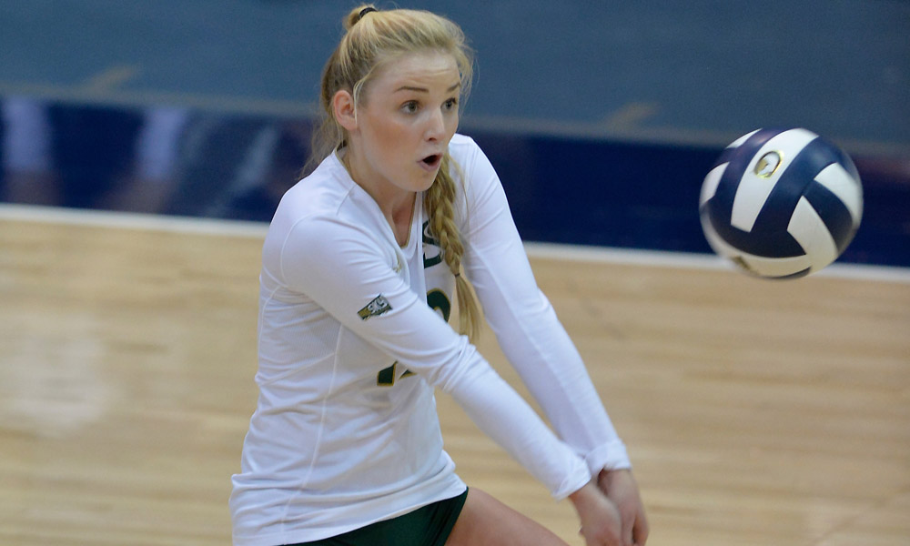ANOTHER COMEBACK WIN FOR VOLLEYBALL, THIS TIME OVER BOWLING GREEN, 3-2