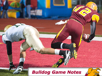 Football Game Notes: Lake Erie (Oct. 2)