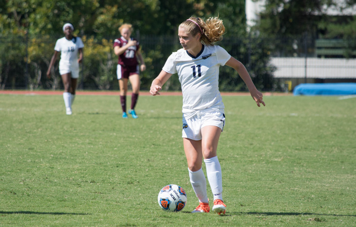 Second Half Scoring Barrage Gives Emory Women's Soccer Second Win of Season