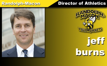 Burns Named R-MC Director of Athletics