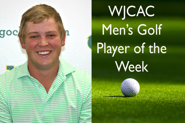 WJCAC Men's Golf Player of the Week (April 9-15)