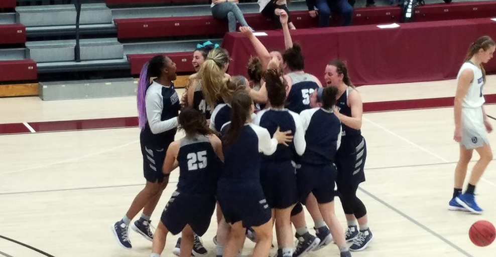 Women's basketball earns NCAA First Round victory with 59-40 upset of Bentley