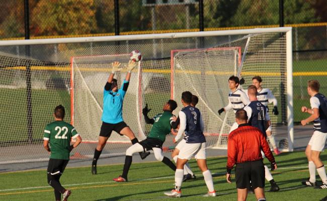 Wolves Fall to Nittany Lions in Men's Soccer
