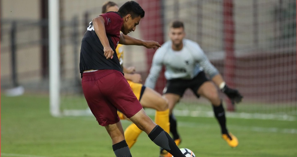 Men's Soccer Allows Two Late Goals And Lose, 2-1, At LMU