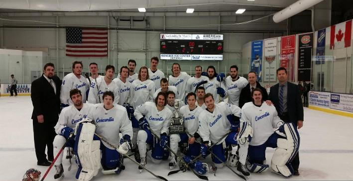 Riddle's late goal gives Men's Hockey third straight Thanksgiving Cup