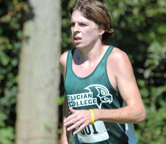Sophomore Tom Cooke finished second to teammate Mike Secreti at the Sept. 14, 2013, NJIT Classic. (Steven R. Smith)