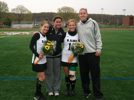 Rams Fall to First Place Montclair State on Senior Day