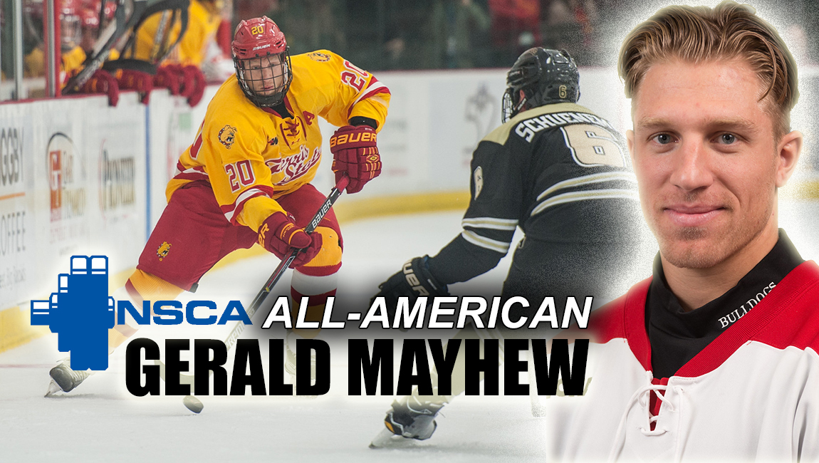 Ferris State Hockey's Gerald Mayhew Garners National Strength & Conditioning All-American Athlete Award