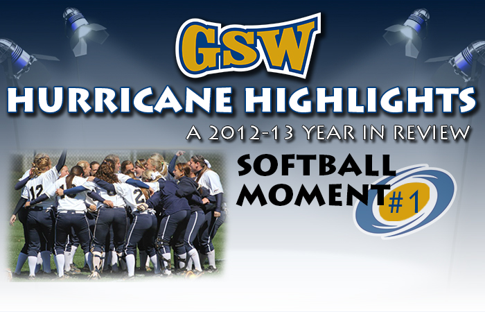 GSW Softball Hurricane Highlight #1: One For the Record Books