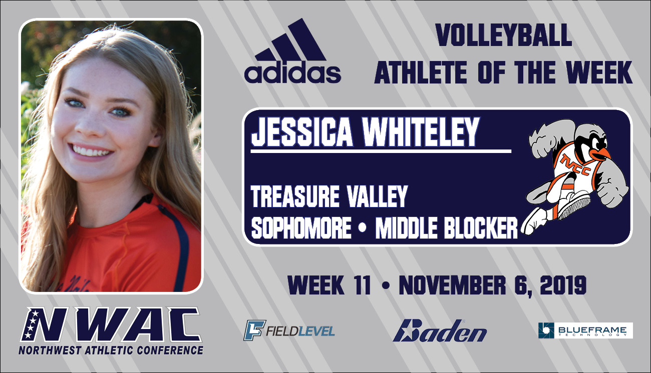 Adidas Athlete of the Week Graphic for Jessica Whiteley