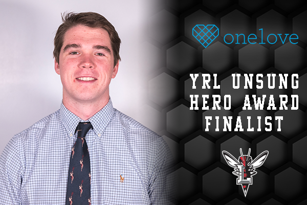 Stephen Ruppel Headshot; Text: YRL Unsung Hero Award Finalist.