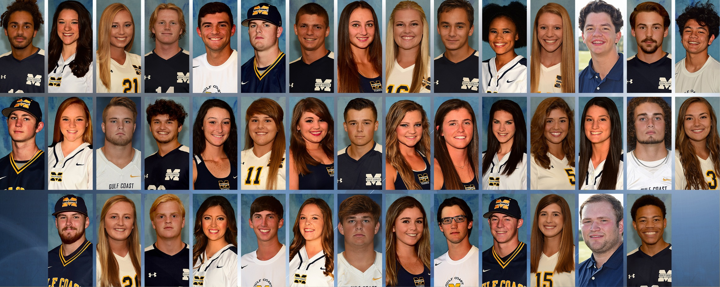 43 MGCCC student-athletes earn NJCAA academic awards