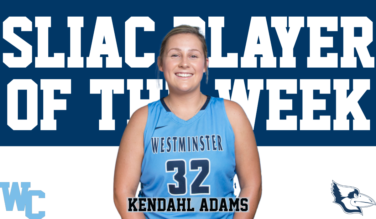 Adams Tabbed SLIAC Player of the Week
