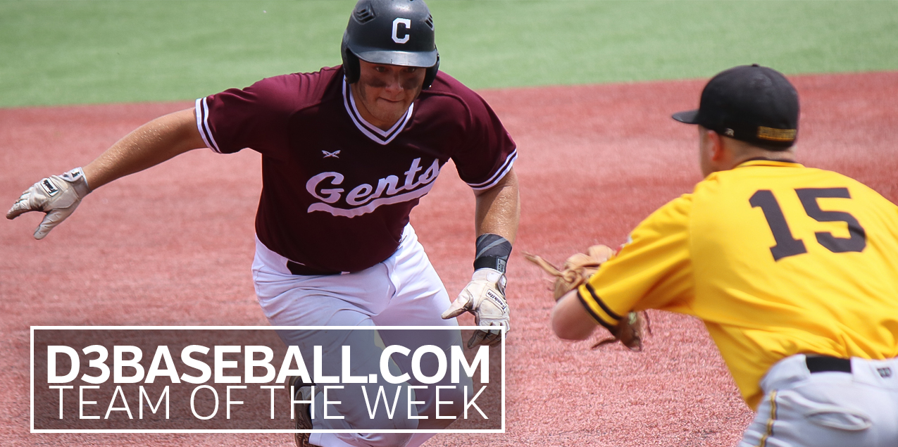 Centenary's Zapata Earns Second D3Baseball Team of the Week Honor