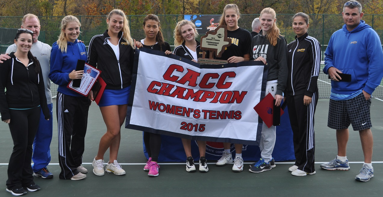 Concordia Captures Seventh-Consecutive CACC Women's Tennis Title