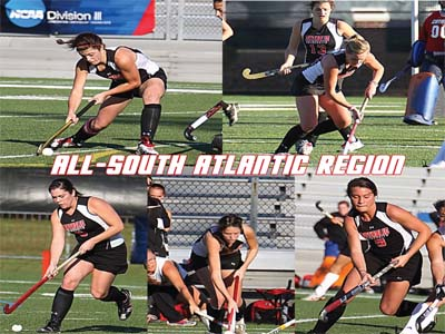 CUA places program record five on All-Region Teams
