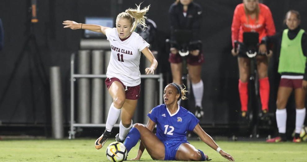 Women's Soccer Returns Home Sunday for Washington State