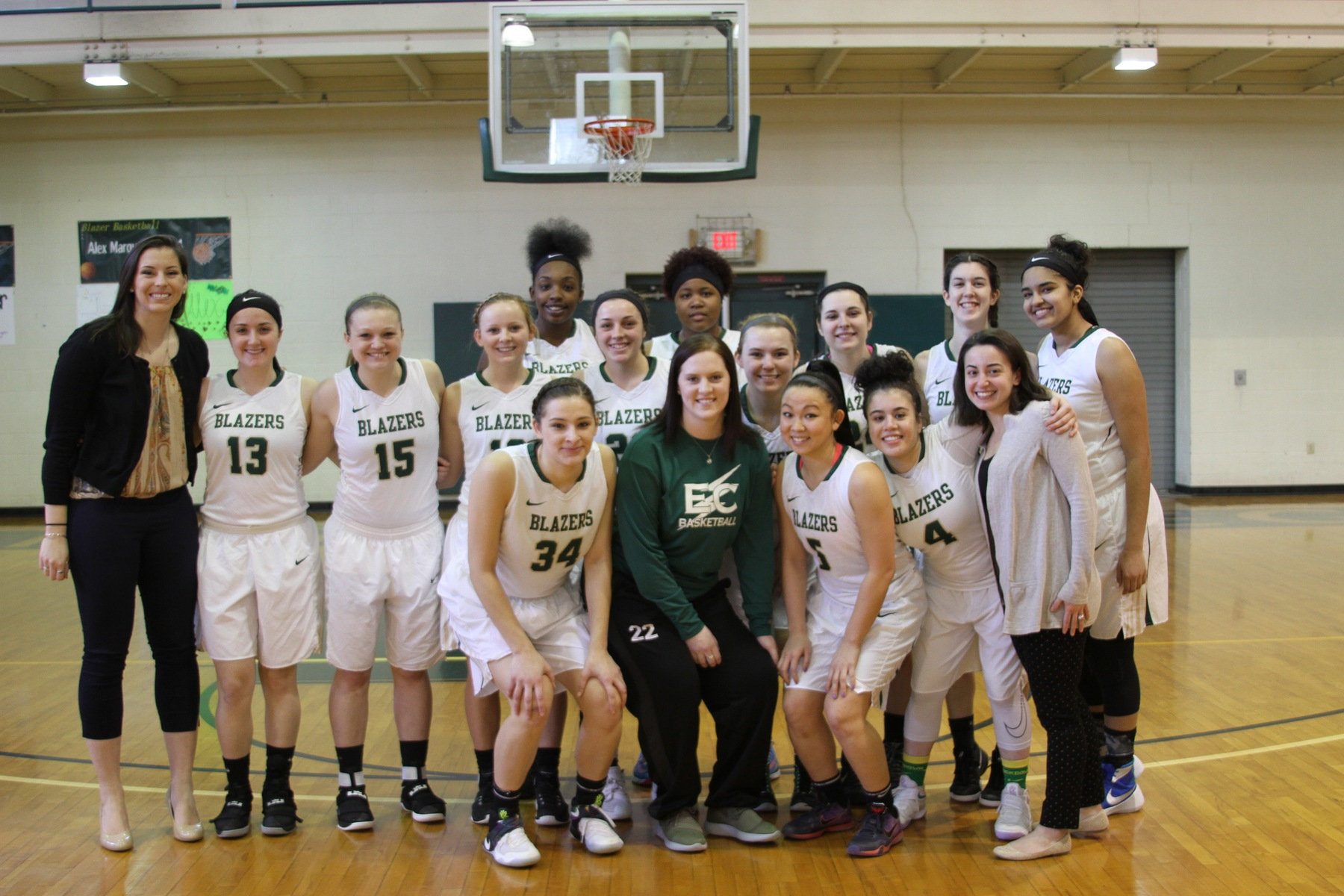 Women's Basketball Claims Second-Seed In NECC Tournament With Win Over Bay Path