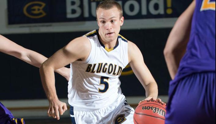 Hjelter Scores Career-High as Blugolds Beat Crown