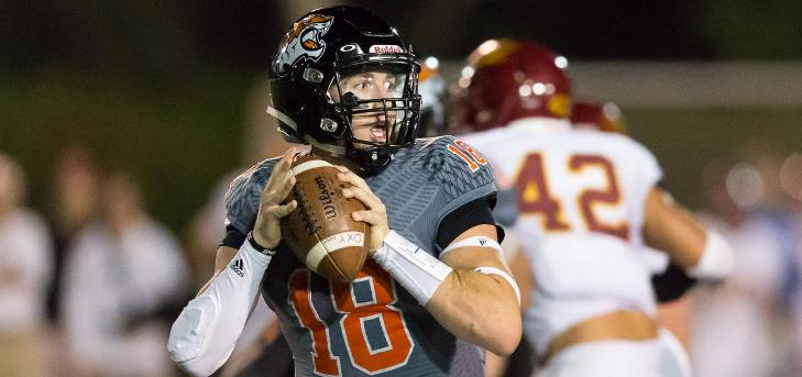 Scott Throws Four Touchdowns Against CMS