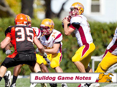 Football Game Notes: Indianapolis (Oct. 29)