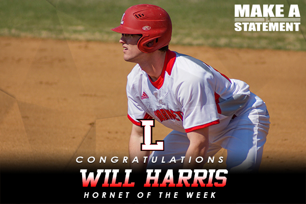 Hornet of the Week: Will Harris (3/14-3/21)