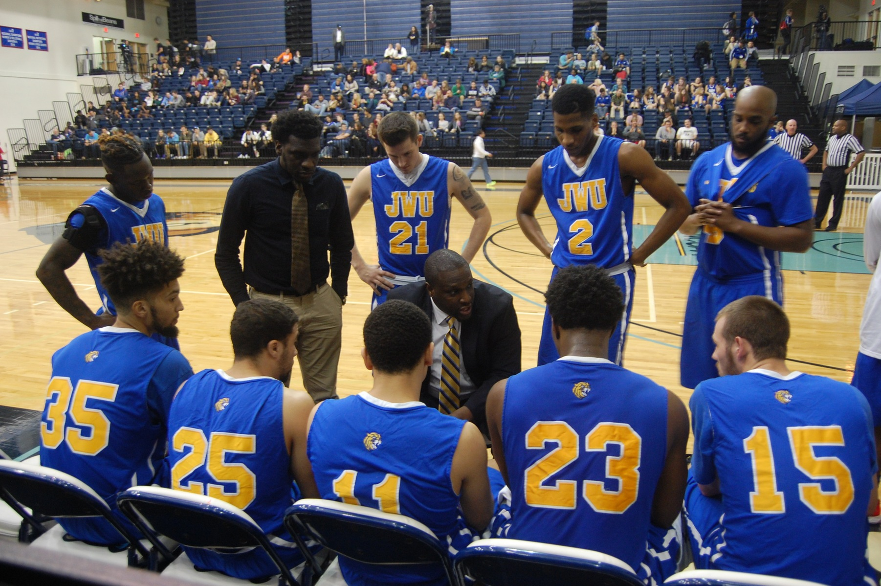 Shooting Woes Costly as Men's Basketball Falls to Bob Jones