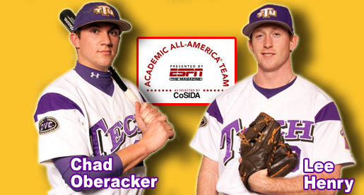Henry, Oberacker named to CoSIDA Academic All-District team