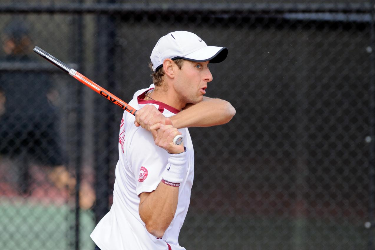 Lamble Drops Three-Set Match, Wraps up Play at the All-American Championship