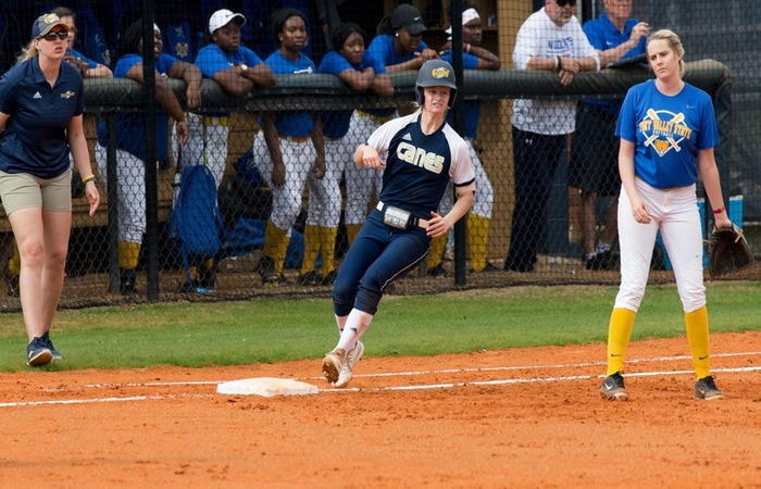 Lady Canes Split Doubleheader With Lander