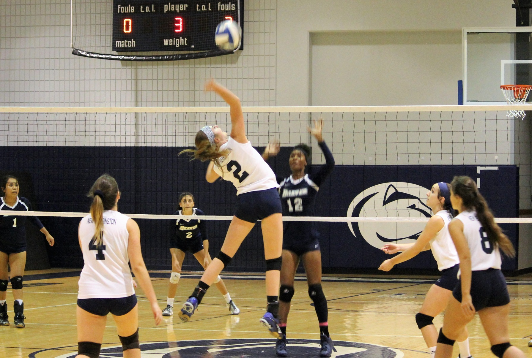 Women's Volleyball Takes Down PSU York; Falls to PSU Mont Alto