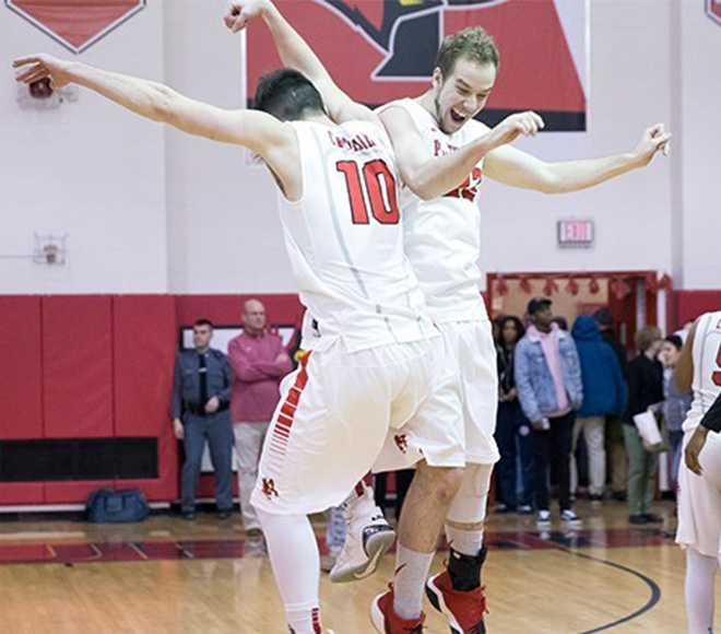 Plattsburgh Men's Basketball Dance On In NCAA DIII Tournament After 87-75 Victory Over Union