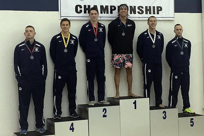 Patterson Shatters Records; Lions Move Into First at AMCC Championships