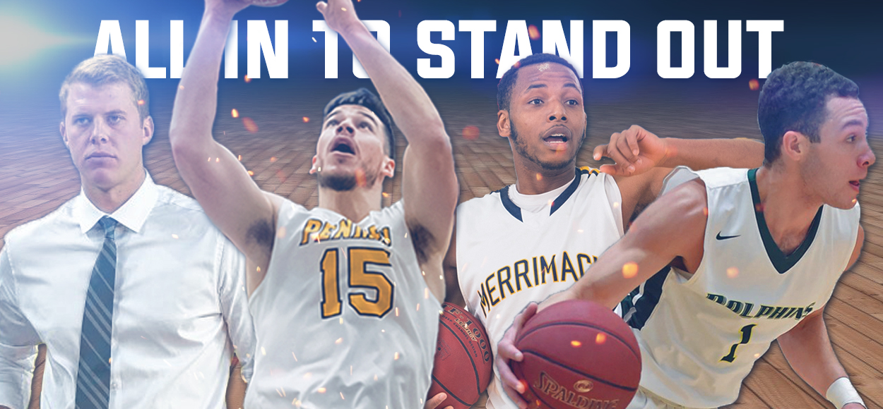 SNHU's Gilligan Named Player of the Year as NE10 Names Men's Basketball Award Winners