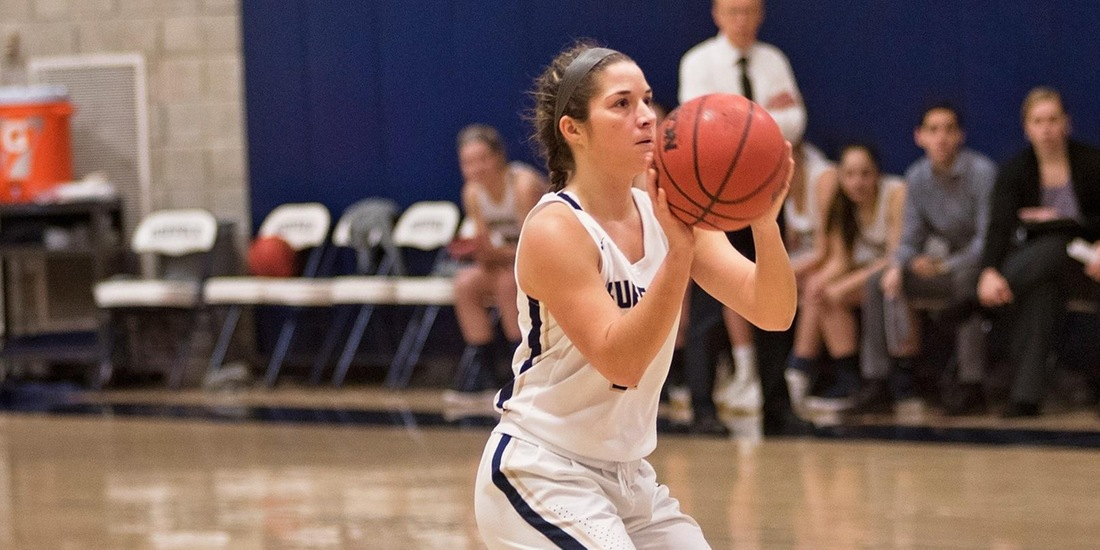 Women's Basketball Falls to St. Joe's (Maine) in GNAC Championship